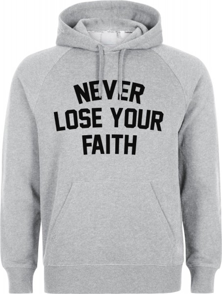 Never Lose Your Faith Halal-Wear Kapuzenpullover Sweatshirt Hoody