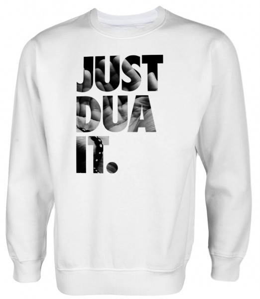 Just Dua IT hands to the sky  Muslim Halal Wear Pullover
