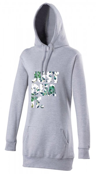 Just Dua IT Flowers Blue Halal-Wear women's Hijab hoodie