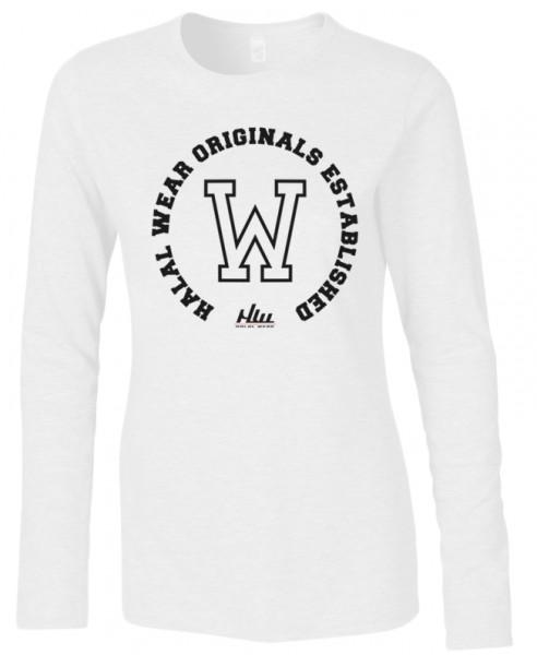 Halal-Wear Original Established women Langarm T-Shirt