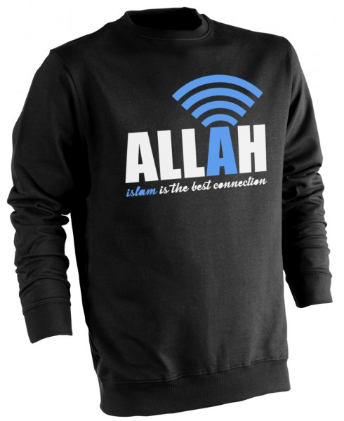 Islam is the best connection to Allah - Muslim Halal Wear Pullover