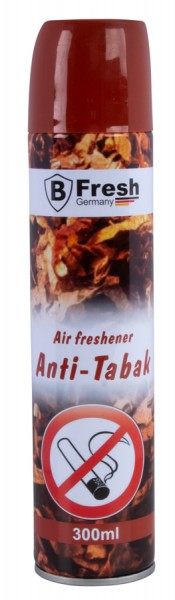 Anti Tabak Lufterfrischer Raumspray 300ml Sprayflasche Duftspray