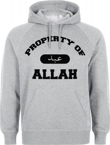 Property of Allah Halal-Wear Kapuzenpullover Sweatshirt Hoody