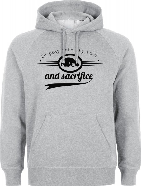 So pray unto thy Lord and sacrifice Sure Al-Kauthar Halal-Wear Kapuzenpullover Sweatshirt Hoody