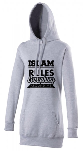 Islam Rules everything around me Halal-Wear women's Hijab hoodie
