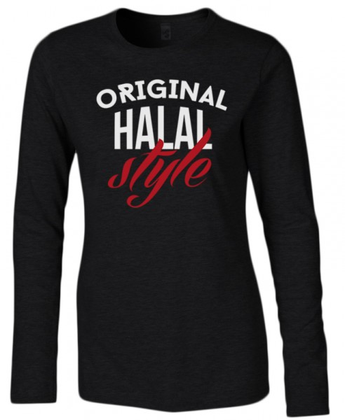 Original Halal Style Halal-Wear women Langarm T-Shirt