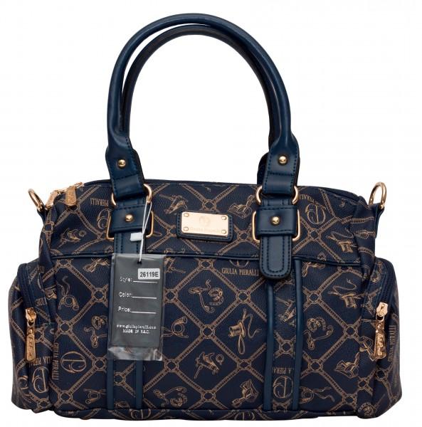 Giulia Pieralli Damentasche Umhängetasche Handtasche Blau 26119E